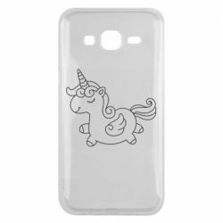 Чехол для Samsung J5 2015 Little unicorn with wings
