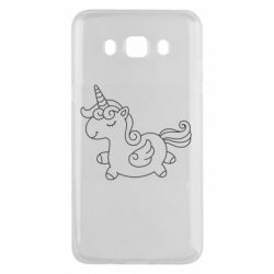 Чехол для Samsung J5 2016 Little unicorn with wings