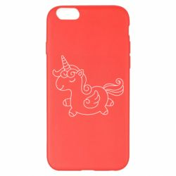 Чехол для iPhone 6 Plus/6S Plus Little unicorn with wings