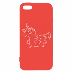 Чехол для iPhone5/5S/SE Little unicorn with wings