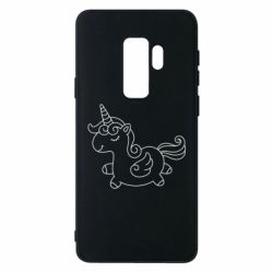 Чехол для Samsung S9+ Little unicorn with wings