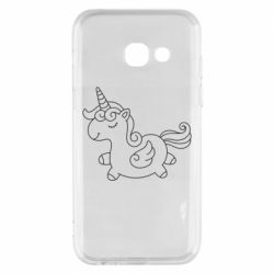 Чехол для Samsung A3 2017 Little unicorn with wings
