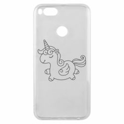 Чехол для Xiaomi Mi A1 Little unicorn with wings