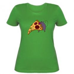 Женская футболка Love Pizza 2 - FatLine
