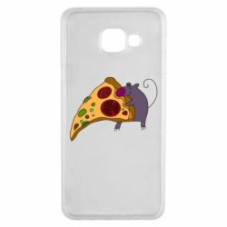 Чехол для Samsung A3 2016 Love Pizza 2