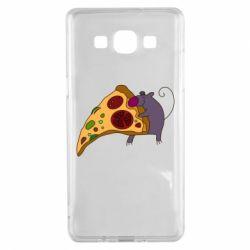 Чехол для Samsung A5 2015 Love Pizza 2