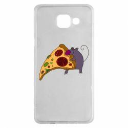 Чехол для Samsung A5 2016 Love Pizza 2