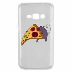 Чехол для Samsung J1 2016 Love Pizza 2