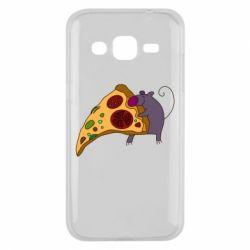 Чехол для Samsung J2 2015 Love Pizza 2