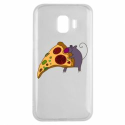 Чехол для Samsung J2 2018 Love Pizza 2
