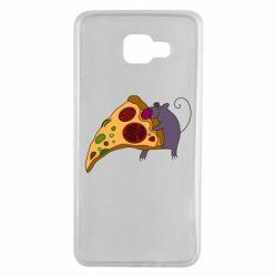 Чехол для Samsung A7 2016 Love Pizza 2