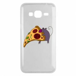 Чехол для Samsung J3 2016 Love Pizza 2