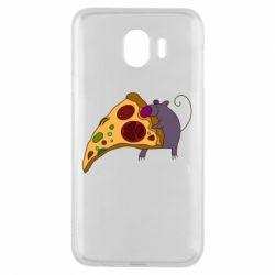 Чехол для Samsung J4 Love Pizza 2