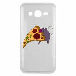 Чехол для Samsung J5 2015 Love Pizza 2