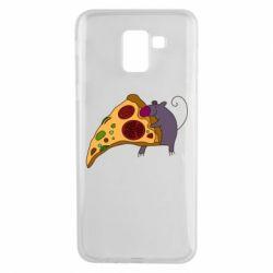 Чехол для Samsung J6 Love Pizza 2