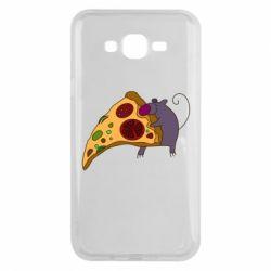 Чехол для Samsung J7 2015 Love Pizza 2