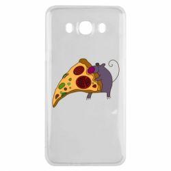 Чехол для Samsung J7 2016 Love Pizza 2
