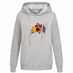 Женская толстовка Love Pizza 2 - FatLine