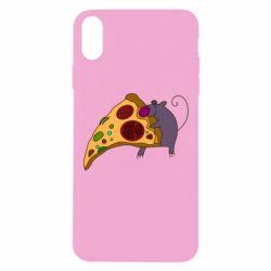 Чехол для iPhone Xs Max Love Pizza 2