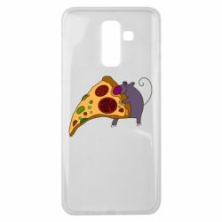 Чехол для Samsung J8 2018 Love Pizza 2