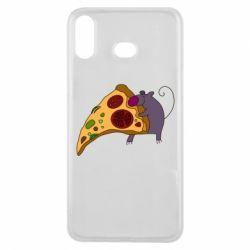 Чехол для Samsung A6s Love Pizza 2