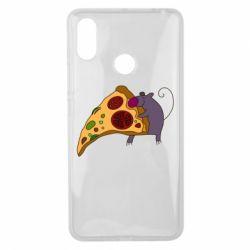 Чехол для Xiaomi Mi Max 3 Love Pizza 2