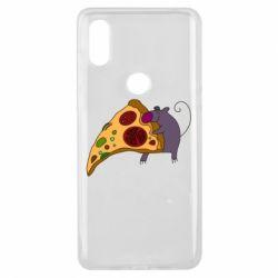 Чехол для Xiaomi Mi Mix 3 Love Pizza 2