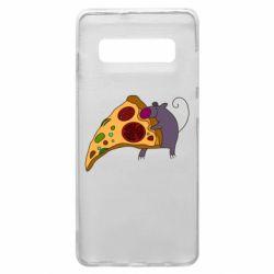 Чехол для Samsung S10+ Love Pizza 2