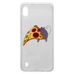 Чехол для Samsung A10 Love Pizza 2