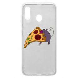 Чехол для Samsung A30 Love Pizza 2