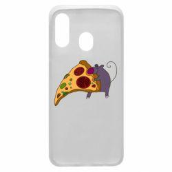 Чехол для Samsung A40 Love Pizza 2