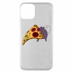 Чехол для iPhone 11 Love Pizza 2