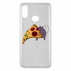 Чехол для Samsung A10s Love Pizza 2