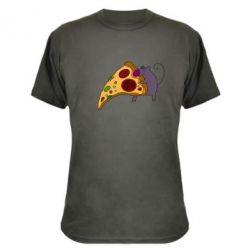 Камуфляжная футболка Love Pizza 2