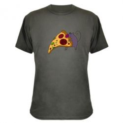 Камуфляжная футболка Love Pizza 2 - FatLine
