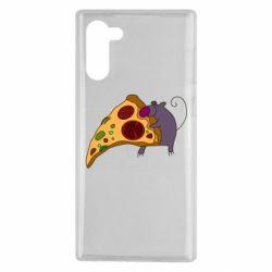 Чехол для Samsung Note 10 Love Pizza 2