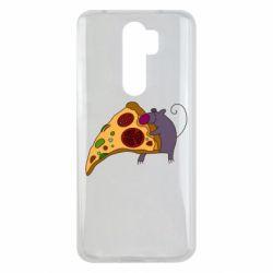 Чехол для Xiaomi Redmi Note 8 Pro Love Pizza 2