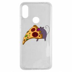 Чехол для Xiaomi Redmi Note 7 Love Pizza 2
