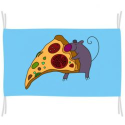 Флаг Love Pizza 2