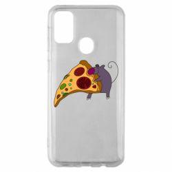 Чехол для Samsung M30s Love Pizza 2