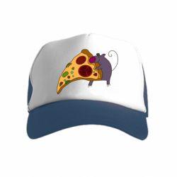 Детская кепка-тракер Love Pizza 2