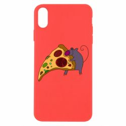 Чехол для iPhone X/Xs Love Pizza 2