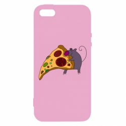 Чехол для iPhone5/5S/SE Love Pizza 2