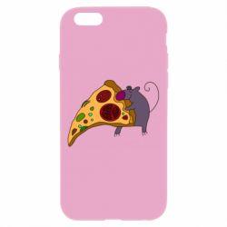 Чехол для iPhone 6/6S Love Pizza 2