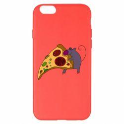Чехол для iPhone 6 Plus/6S Plus Love Pizza 2