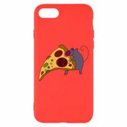 Чехол для iPhone 7 Love Pizza 2