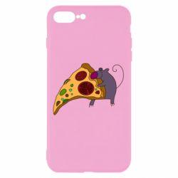 Чехол для iPhone 7 Plus Love Pizza 2