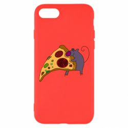 Чехол для iPhone 8 Love Pizza 2