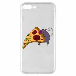 Чехол для iPhone 8 Plus Love Pizza 2