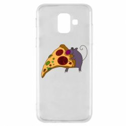 Чехол для Samsung A6 2018 Love Pizza 2